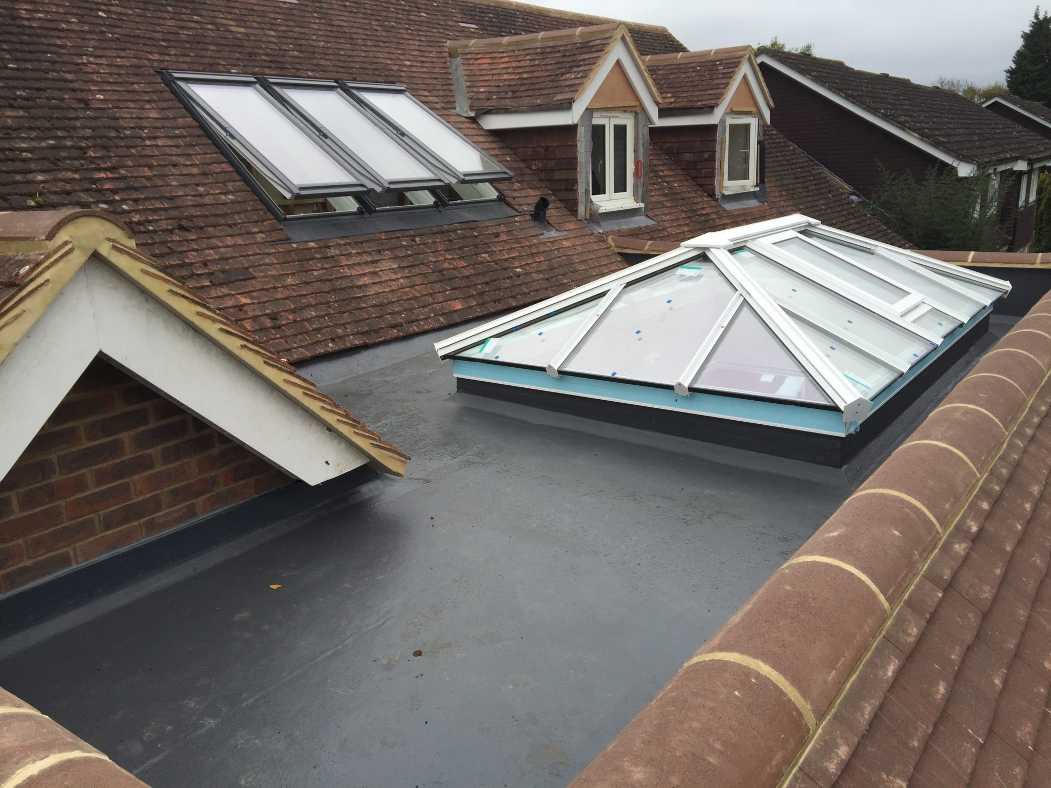 Flat Roof Systems | Surrey Roofing Service